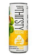 Thirsty Buddha: TempleLifestyle-ThirstyBuddha-12oz-Pineapple-Front