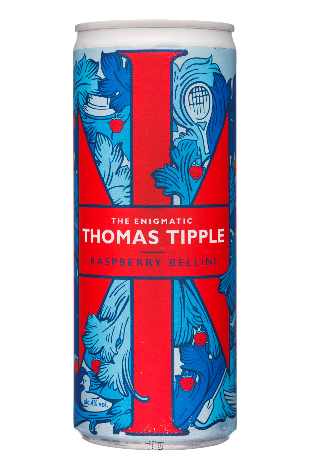 Thomas Tipple: ThomasTipple-12oz-RaspberryBellini