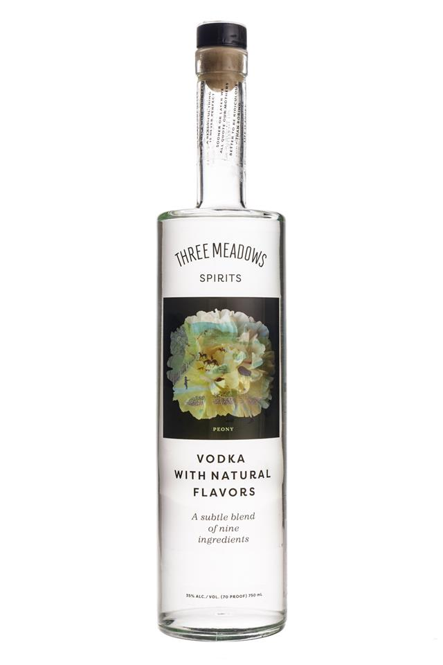 Three Meadows Spirits: ThreeMeadows-Vodka-NaturalFlavors-Peony