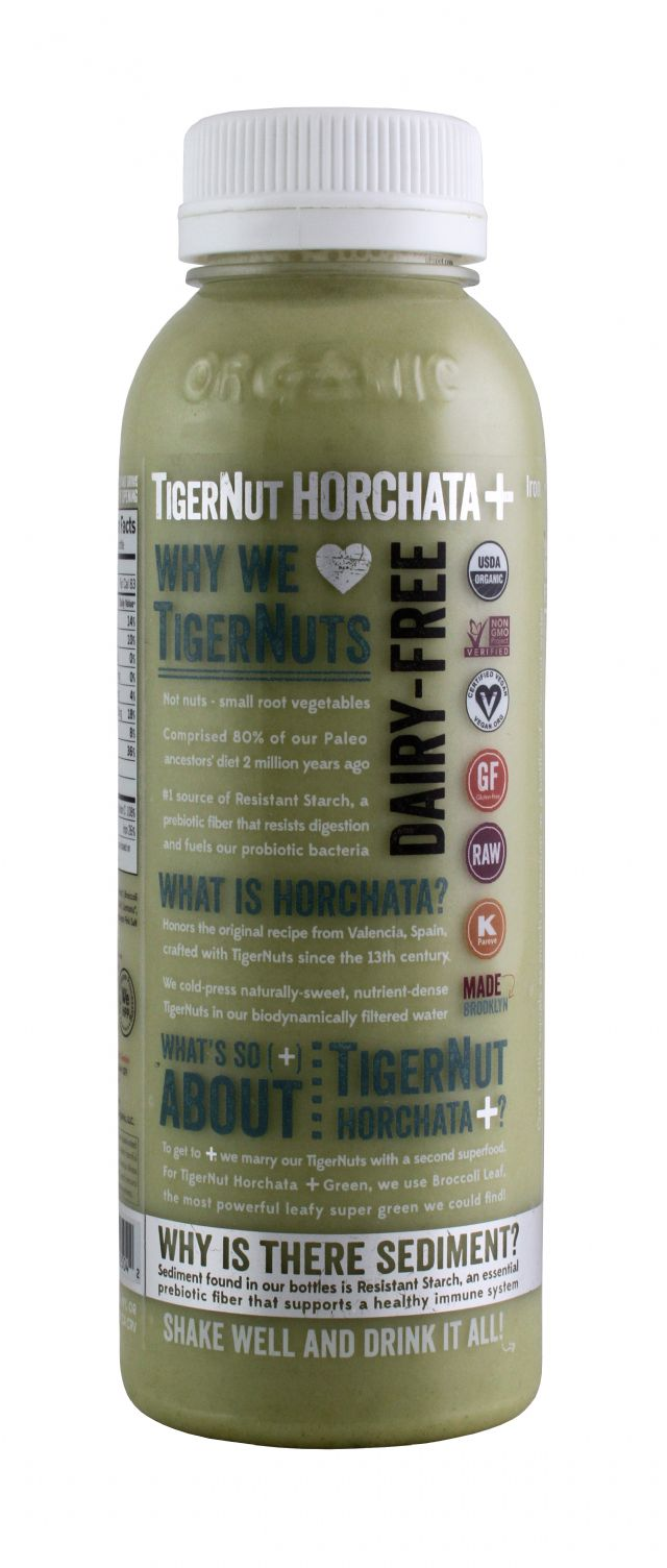 Tigernut Horchata: Tigernut Green Side