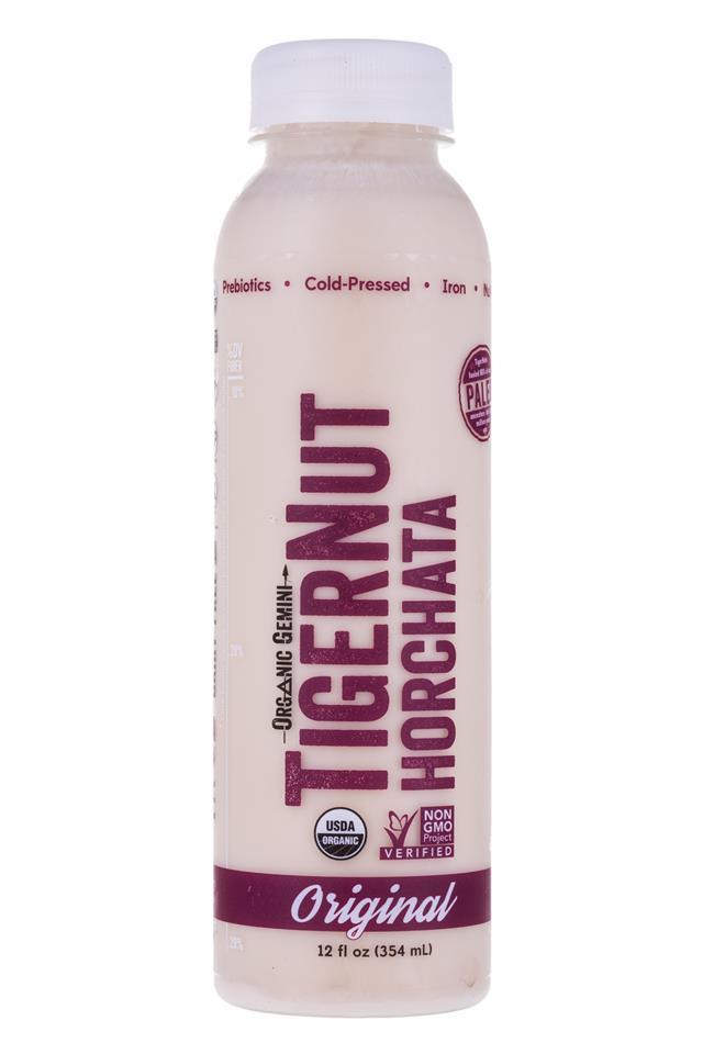 Tigernut Horchata: OrganicGemini-TigerNutHorchata-Original-Front
