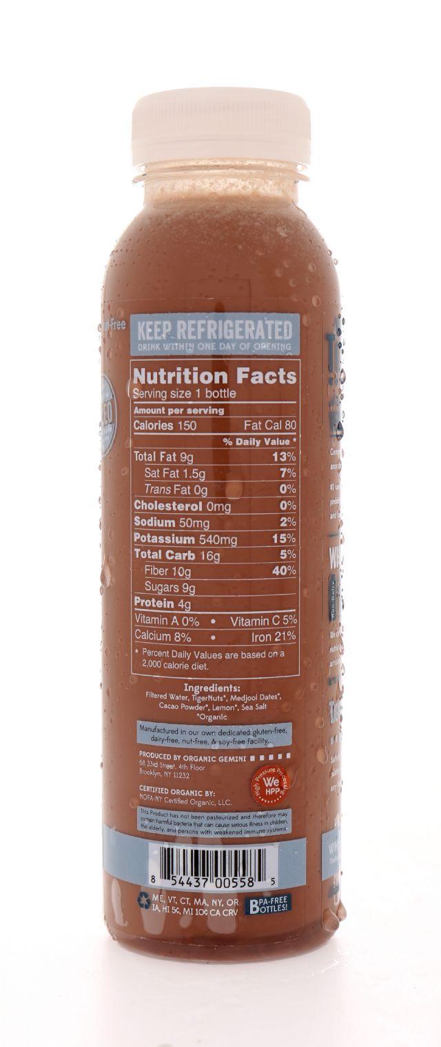 Tigernut Horchata: Tigernut Choco Facts