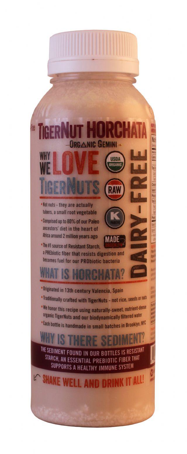 Tigernut Horchata: TigerNUT Original Side