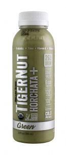 Tigernut Horchata: Tigernut Green Twist