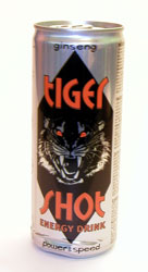 Tiger Shot Energy Drink