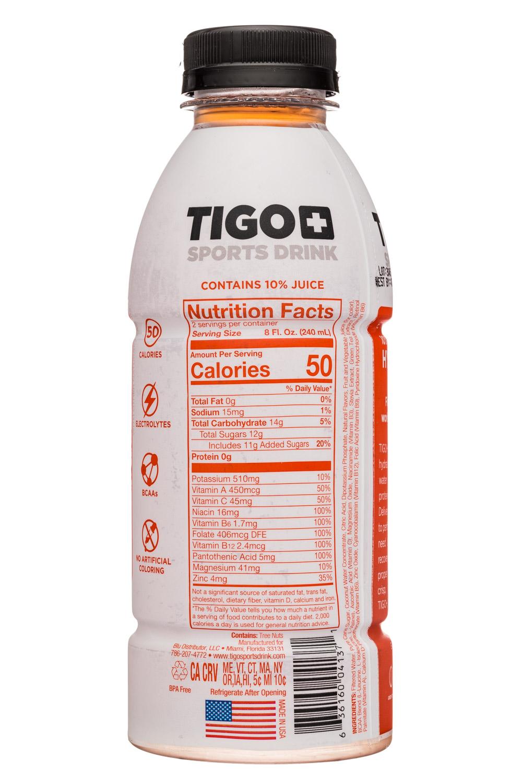 Tigo: Tigo-17oz-SportsDrink-FruitPunch-Facts