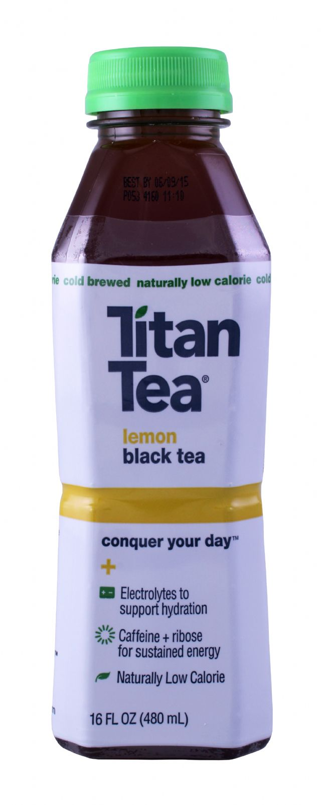 Titan Tea: TitanTea Lemon Front