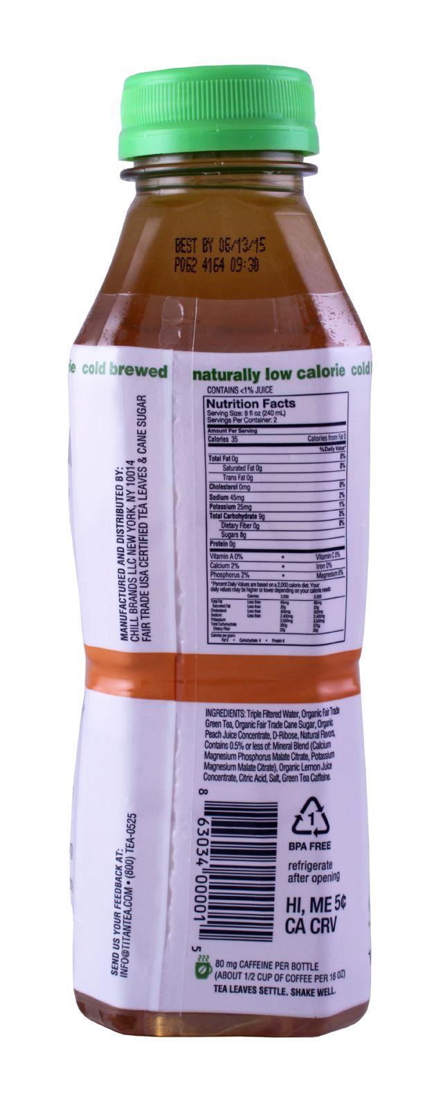 Titan Tea: TitanTea Peach Facts
