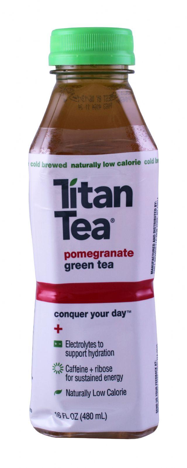 Titan Tea: TitanTea Pomegranate Front