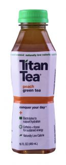 Titan Tea: TitanTea Peach Front