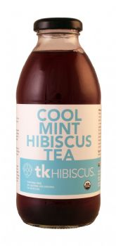 Cool Mint Hibiscus Tea