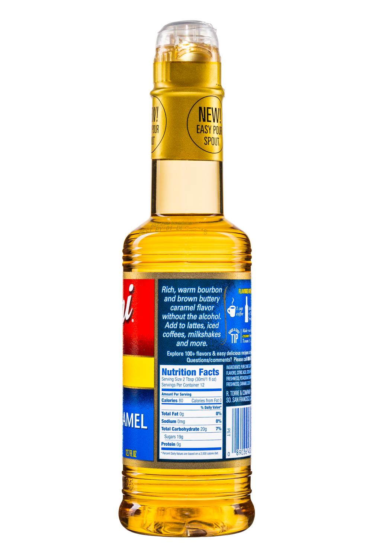 Torani: Torani-FlavoringSyrup-375ml-BourbonCaramel-Facts