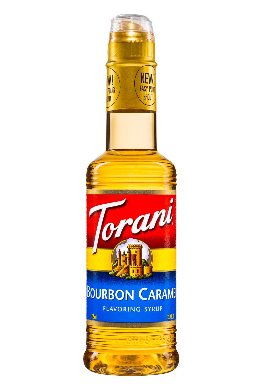 Torani: Torani-FlavoringSyrup-375ml-BourbonCaramel-Front