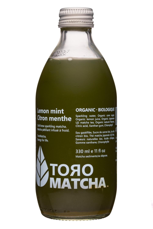 Toro Matcha: ToroMatcha-11oz-LemonMint-Front