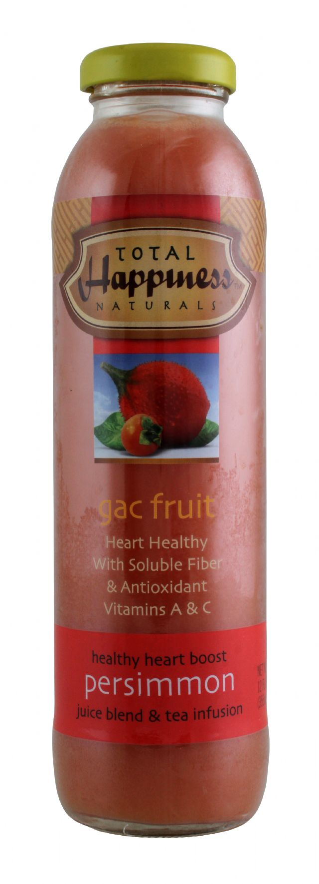 Total Happiness Naturals: TotalHappiness Persimmon Front