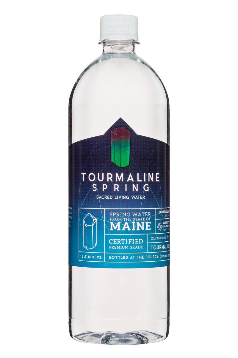 Tourmaline Spring Water: TourmalineSpring-SacredLivingWater-33oz