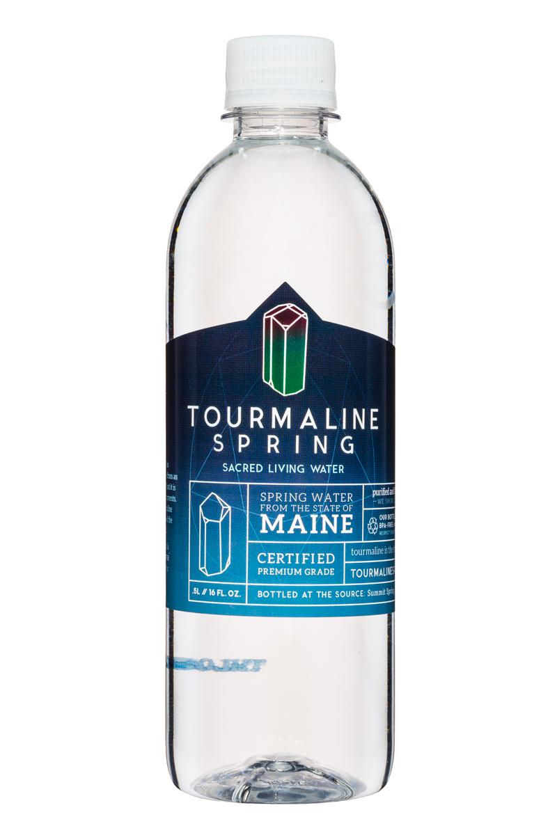 Tourmaline Spring Water: TourmalineSpring-SacredLivingWater-16oz