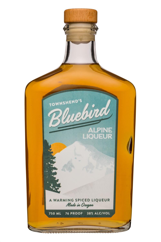 Townshend's Distillery: Townshends-750ml-Bluebird-AlpineLiqueur