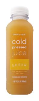 Trader Joe's Cold Pressed Juice: TraderJoes_Yellow
