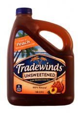 Unsweetened Iced Tea with Peach - 1 GAL