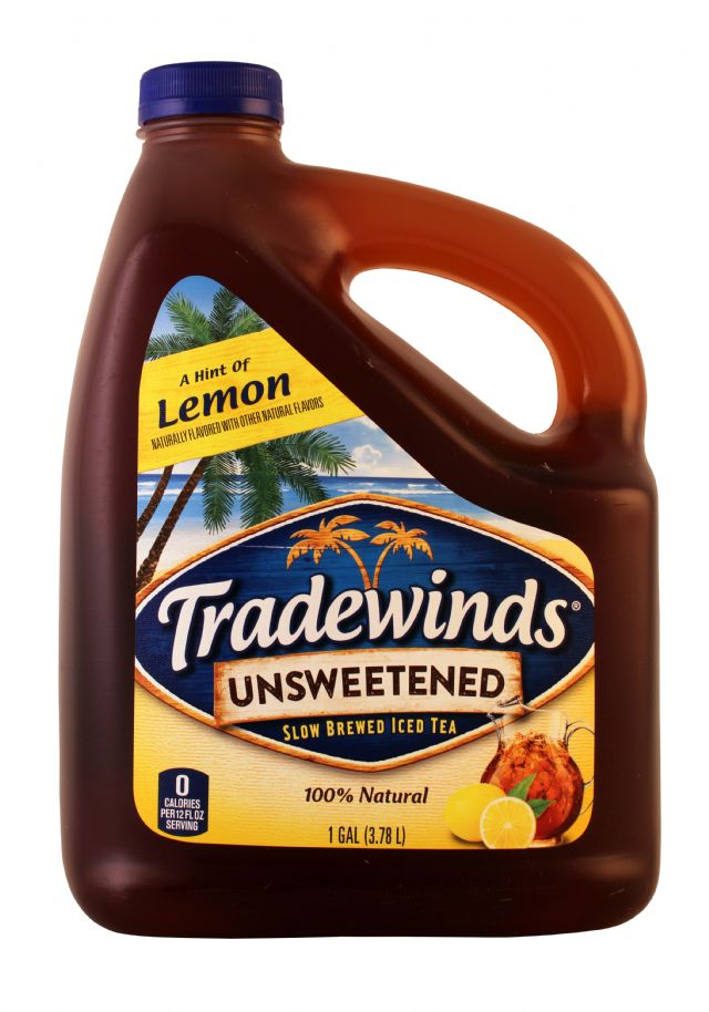 Tradewinds Tea: Tradewinds UnsweetLem Front
