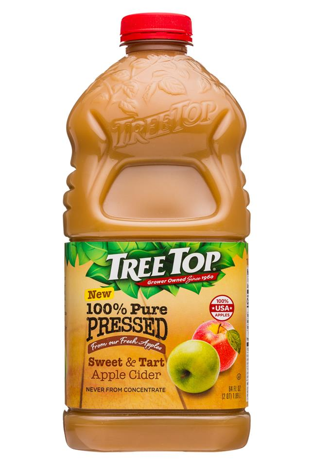 Tree Top: TreeTop-64oz-SweetTart-AppleCider-Front