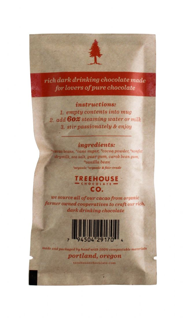 Treehouse Chocolate Co.: Treehouse OriDarkChoco Facts