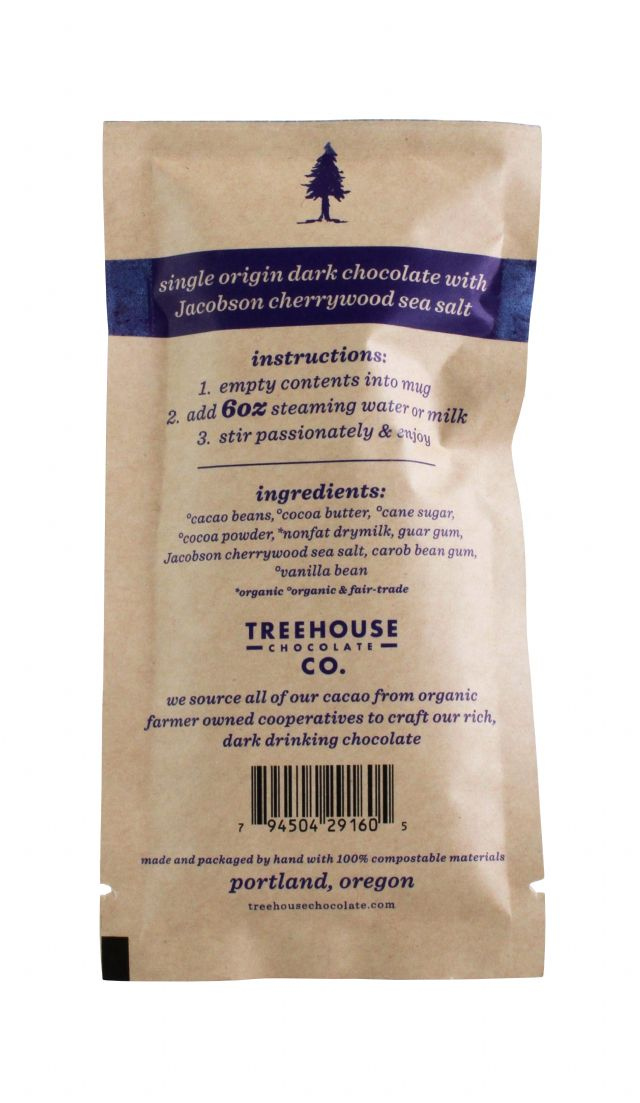 Treehouse Chocolate Co.: Treehouse CherrySeaSalt Facts