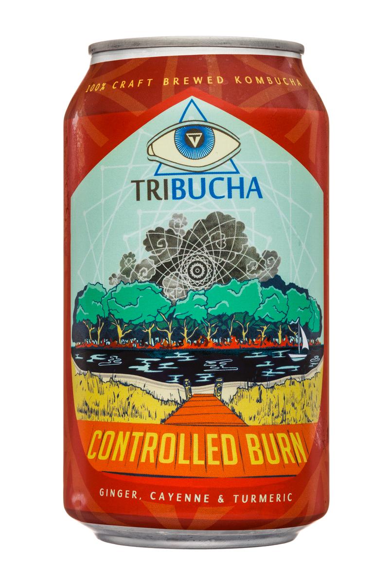 Tribucha: Tribucha-12ozCan-ControlledBurn-Front