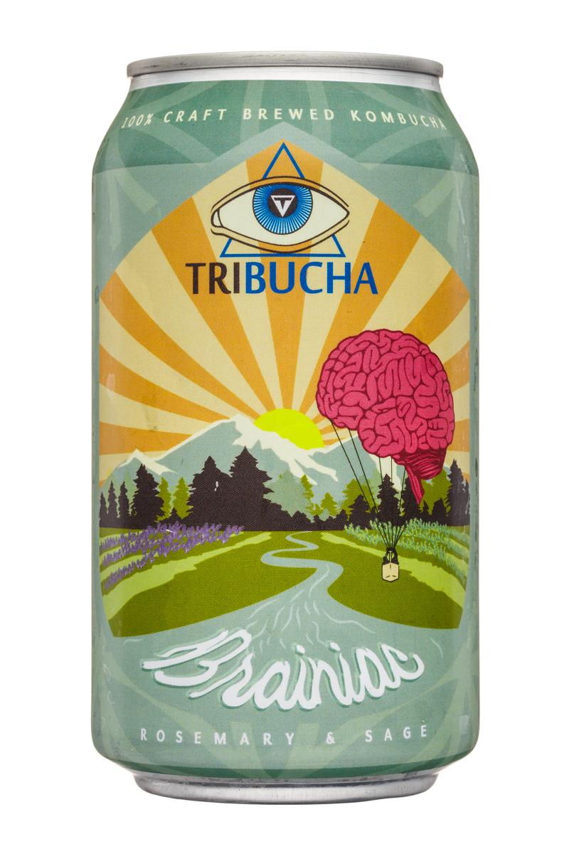 Tribucha: Tribucha-12ozCan-Brainiac-Front