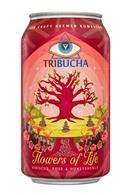 Tribucha: Tribucha-12ozCan-FlowersOfLife-Front