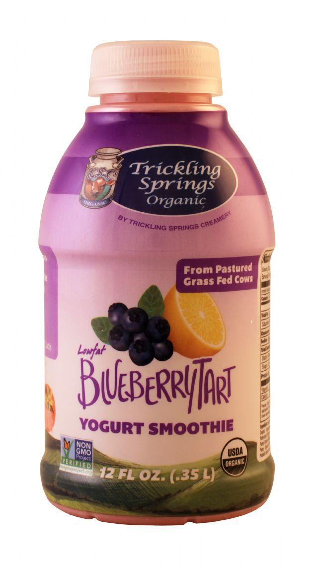 Trickling Springs Organic: Trickling BlueBerryTart Front