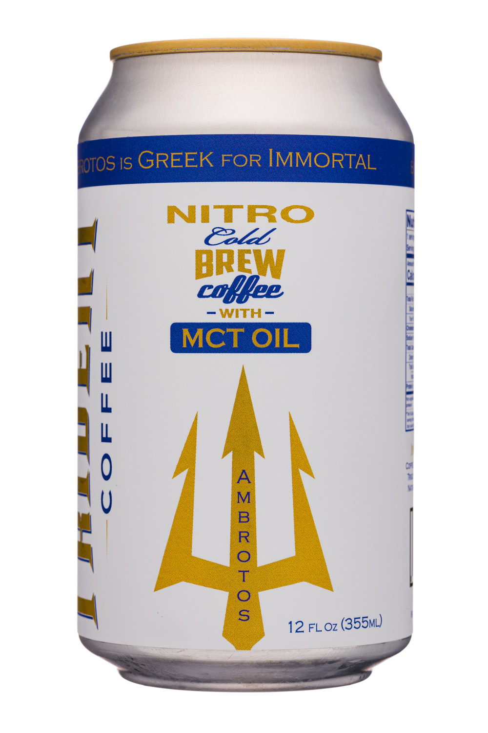 Nitro Cold Brew Coffee with MCT