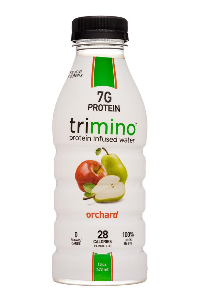 Trimino: Trimino-16oz-ProteinWater-Orchard-Front