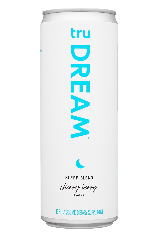 Tru: Tru-12oz-2021-Dream-SleepBlend-CherryBerry-Front
