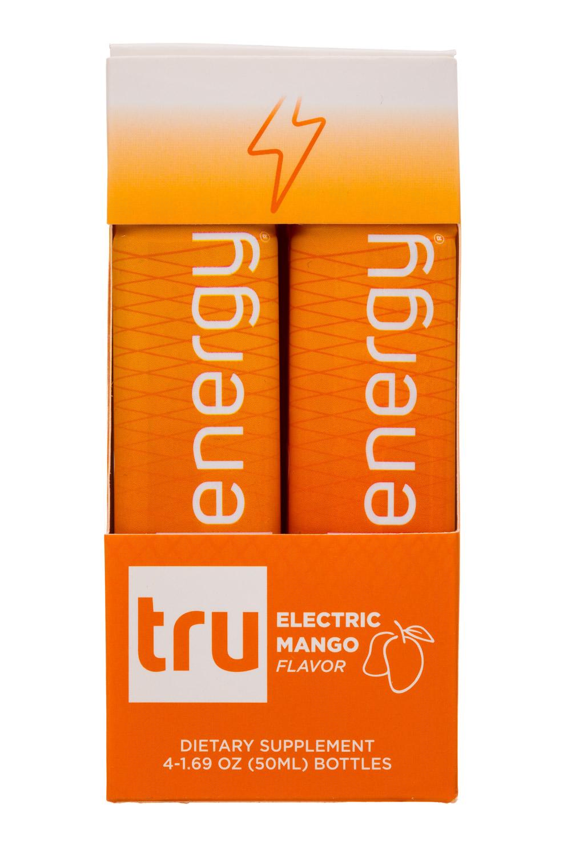 Tru: DrinkTru-4pk-ElectricMango-Front