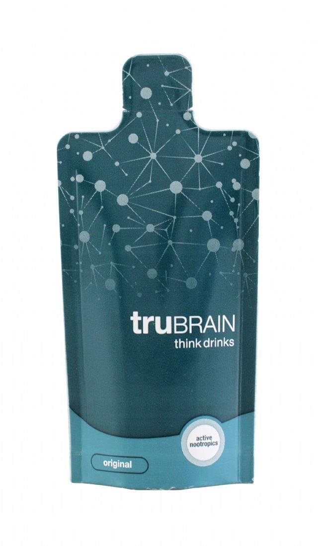 truBRAIN think drinks: TruBrain Original Front