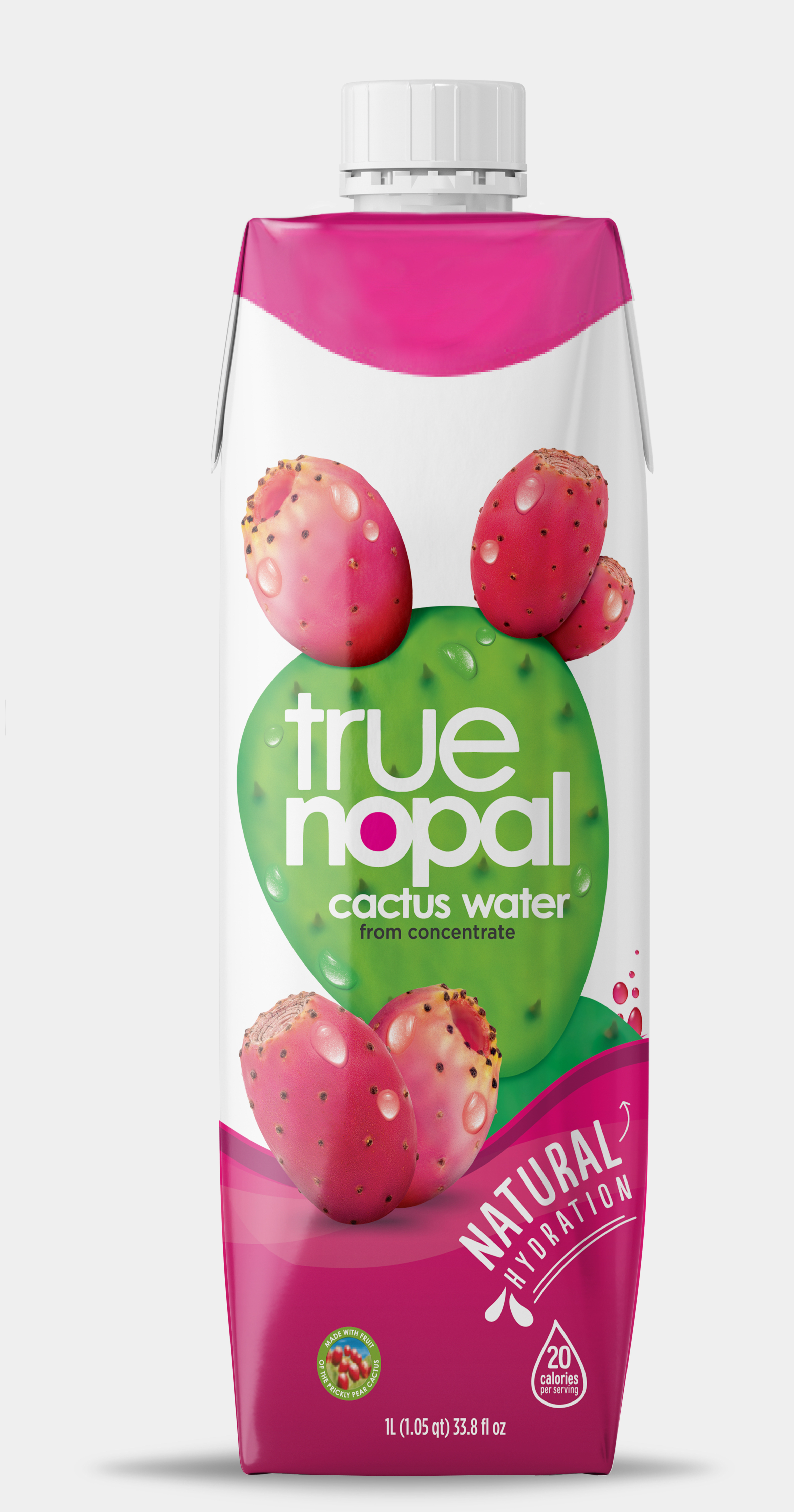 True Nopal Cactus Water 1 liter