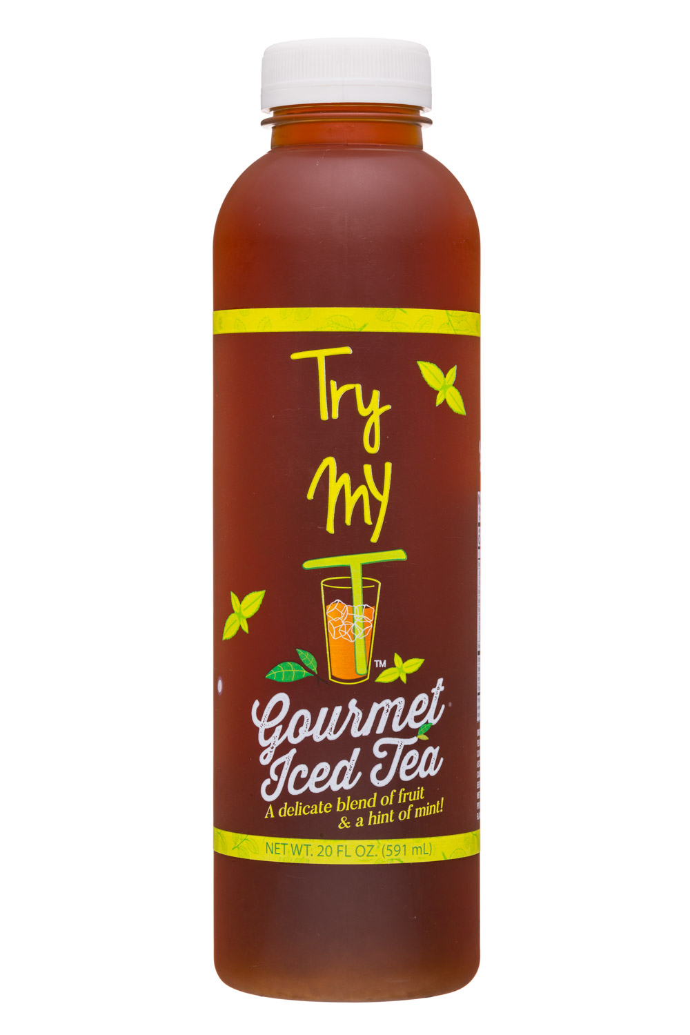 Try My T: TryMyT-20oz-GourmetIcedTea-Front