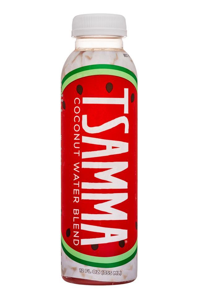 Tsamma Watermelon Juice: Tsamma-12oz-CoconutWaterBlend-Front