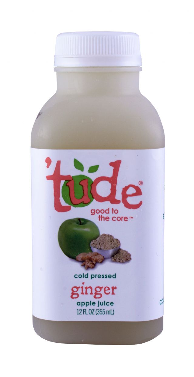 'tude juice: Tude Ginger Front