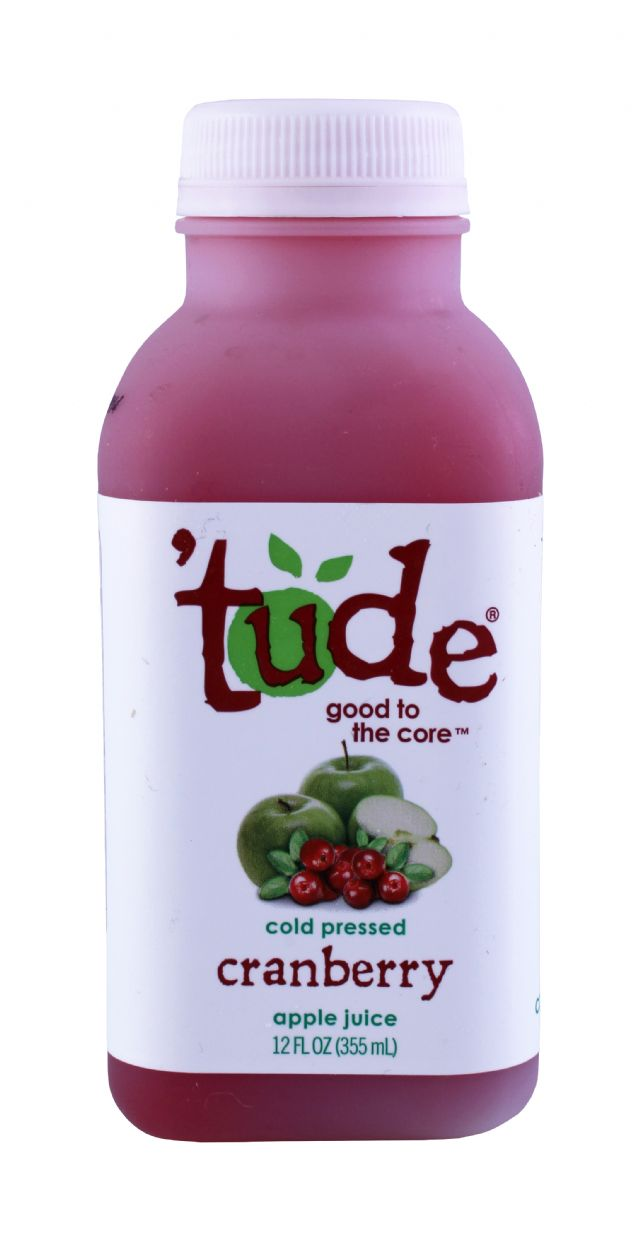 'tude juice: Tude Cranberry Front