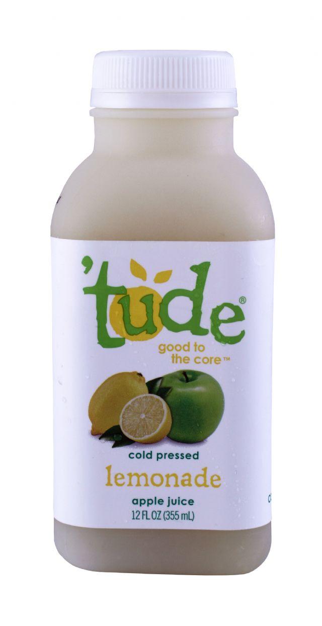'tude juice: Tude Lemonade Front