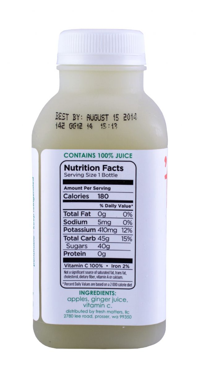 'tude juice: Tude Ginger Facts