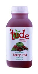 'tude juice: Tude BerryRed Front