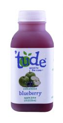 'tude juice: Tude Blueberry Front