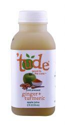 'tude juice: Tude GingerTumeric Front