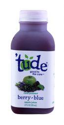 'tude juice: Tude BerryBlue Front