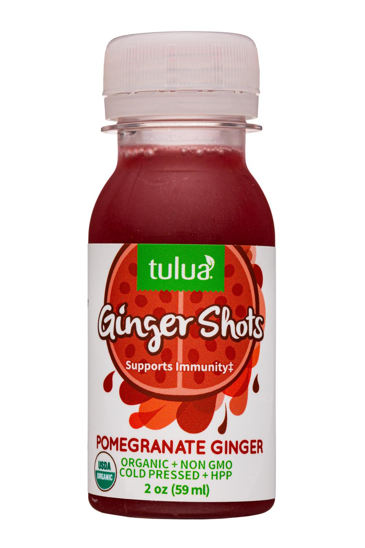 Ginger Shots - Pomegranate Ginger