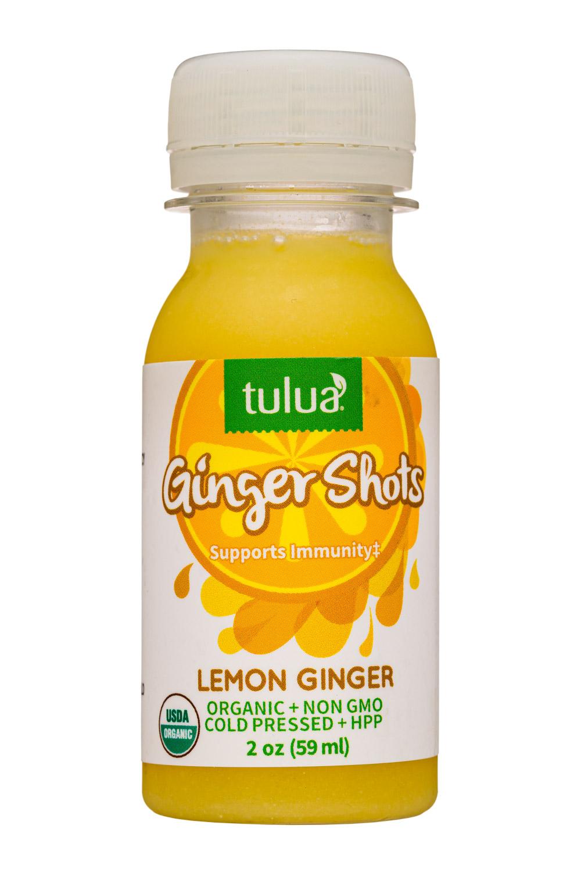 Ginger Shots - Lemon Ginger